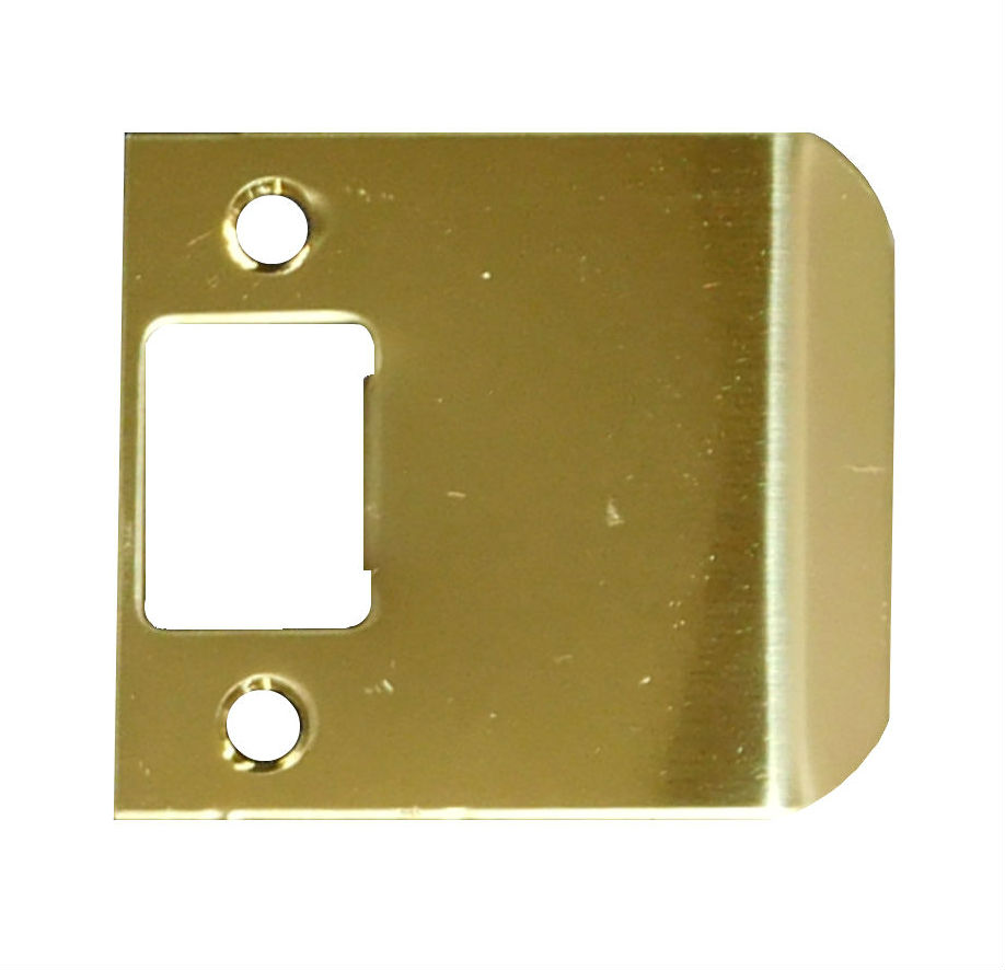 """Don-Jo EL104  4 1//2/"""" overall length extended lip strike plates various finishes"""
